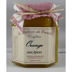 Confiture d'Orange aux épices - Pot de 310g