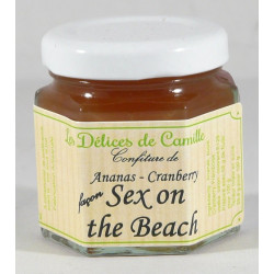 Délice Ananas Cranberry façon Sex on the Beach - Pot de 50g