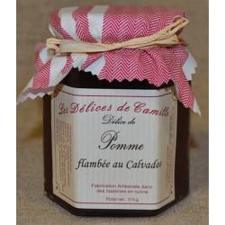 Délice de Pomme flambée au Calvados - Pot de 310g