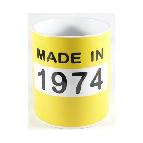 Mug année 1974