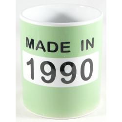 Mug année 1990