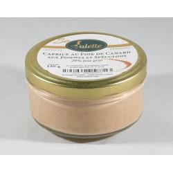 Caprice de Foie de Canard aux pommes et Spéculoos - 130g