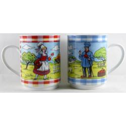 """Lots de 2 Mugs """"Les Normands"""""""