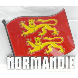 Magnet Métal Drapeau Normand