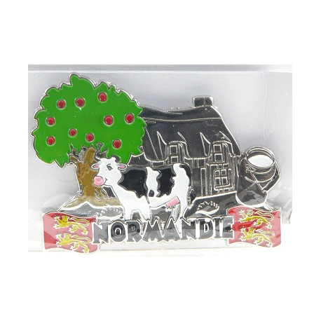 Magnet Métal Vache Normandie