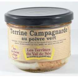 Terrine campagnarde au Calvados - bocal de 190g