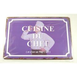 "Plaque ""Cuisine du Chef"""