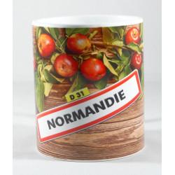 """Mug """"Normandie - pommes"""""""