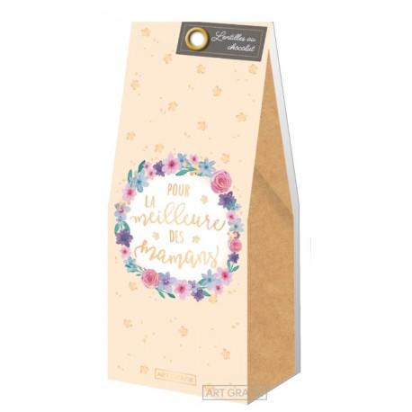 """Lentilles au chocolat """"Pour la meilleure Mamans"""" 80g"""