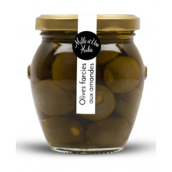 Olives farcies aux amandes - pot de 190g