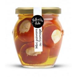 Mini poivrons farcis au thon - pot de 190g