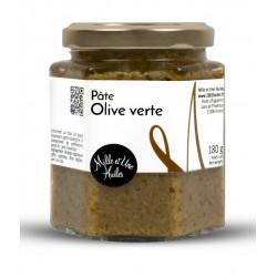 Pâte d'olive verte - pot de 180g