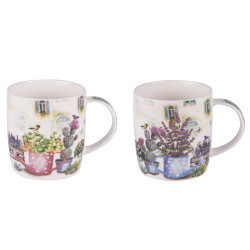 Coffret 2 mugs 40 cl Alicante
