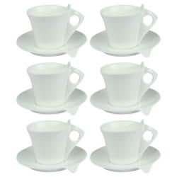 Coffret 6 tasses thé 18cl Libra