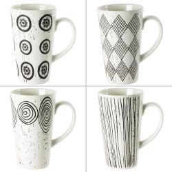 Coffret 4 Mugs Palawan 42cL