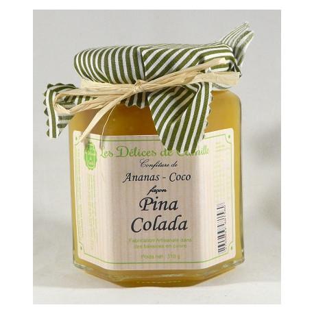 Confiture Pina Colada - Pot de 310g