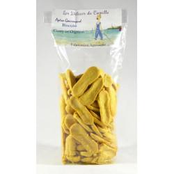 Biscuits apéritifs Curry/Oignon - 120g