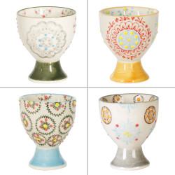 Coffret 4 mugs 35cl mosaic