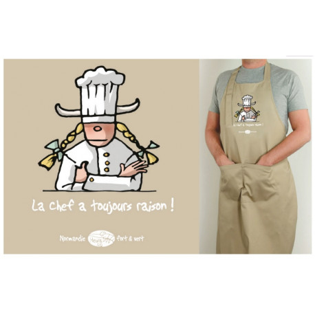 Tablier Normand La Chef