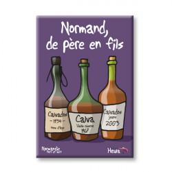 """Dessous de Plat """"Carte Normandie"""""""