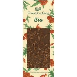 Tablette Chocolat Lait Caramel Beurre Salé Bio 90g