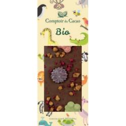 Tablette Chocolat Lait Animaux Bio 90g