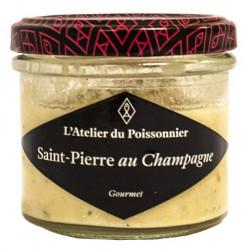 Rillettes de Saint-Pierre au Champagne - Pot de 90g