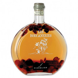 Punch au Rhum arrangé Fruits Rouges - Boucaneries - Bouteille de 50cL