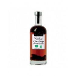 Punch BIO au Rhum arrangé aux Cranberries - Bouteille de 70cL