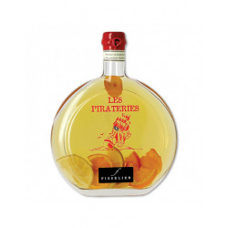 Punch au Rhum arrangé 3 Agrumes - Pirateries - Bouteille de 50cL