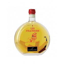 Punch au Rhum arrangé Ananas - Boucaneries - Bouteille de 50cL