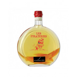 Punch au Rhum arrangé à la Mangue - Pirateries - Bouteille de 50cL