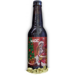 """Bière BIO de Noël - """"Magic"""" - 33cL"""
