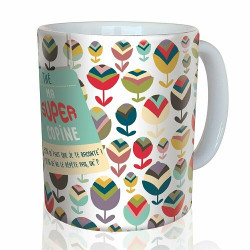 """Mug """"Super Copine"""""""