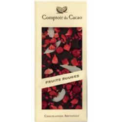 Tablette Chocolat Noir Fruits Rouges 100g