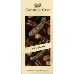 Tablette Chocolat Noir Mendiant 100g