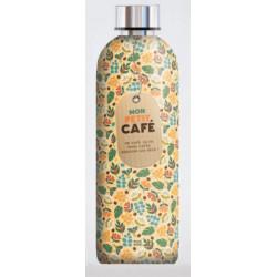 """Bouteille Isotherme """"Mon petit Café"""""""