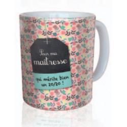 """Mug """"Pour ma maitresse"""""""