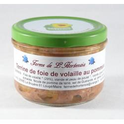 Terrine de Foie de Volailles au Pommeau - 175g