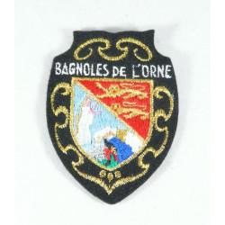 """Ecusson à Broder """"Bagnoles de l'Orne"""" - Lac"""