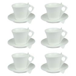 Coffret 6 tasses café 10cl Libra