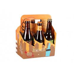 Valisette Panier San Francisco 6 bières
