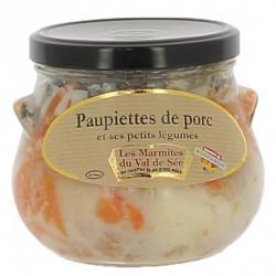 Paupiettes de Porc et ses petits légumes - Bocal de 750g