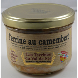 Terrine au camembert de Normandie - Bocal de 190g