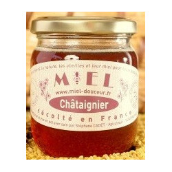 Miel de Châtaignier - Pot de 400g